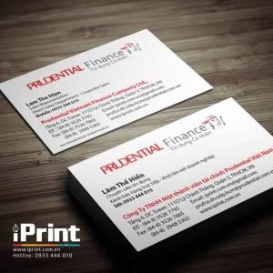 Name card bảo hiểm Prudential