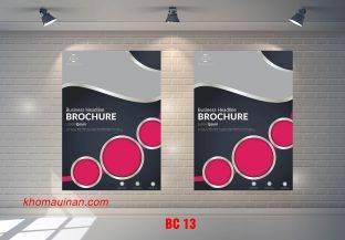 Mẫu catalogue BC13