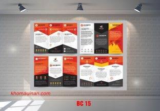 Mẫu catalogue BC15