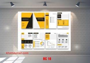 Mẫu catalogue BC18
