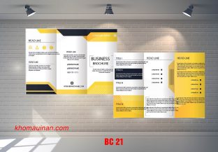 Mẫu catalogue BC21