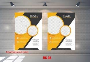 Mẫu catalogue BC25