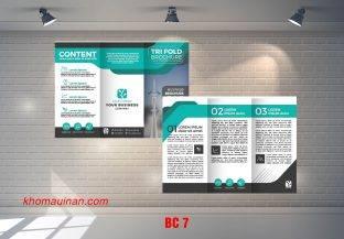 Mẫu catalogue BC7