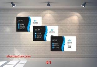 Bộ sưu tập mẫu name card kinh doanhMẫu C1