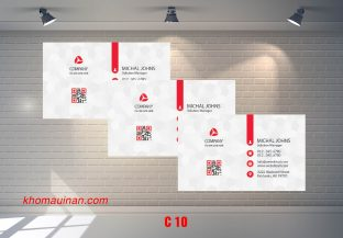 Bộ sưu tập mẫu name card kinh doanh Mẫu C10