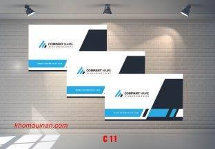 Bộ sưu tập mẫu name card kinh doanh Mẫu C11