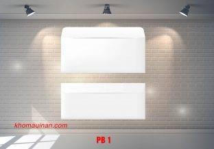 Bộ sưu tập mẫu phong bì – PB 1