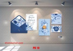 Bộ sưu tập mẫu phong bì – PB 10