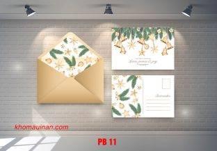 Bộ sưu tập mẫu phong bì – PB 11