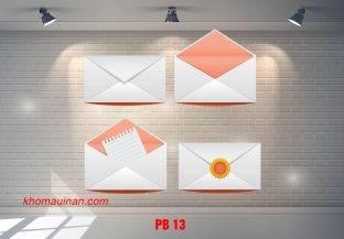 Bộ sưu tập mẫu phong bì – PB 13