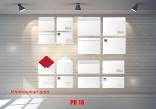Bộ sưu tập mẫu phong bì – PB 16