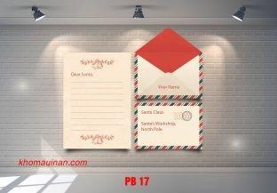Bộ sưu tập mẫu phong bì – PB 17