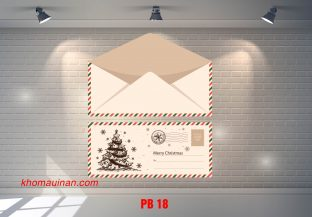 Bộ sưu tập mẫu phong bì – PB 18